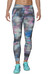 asics Graphic 26In Tight Women Abstract Nuage